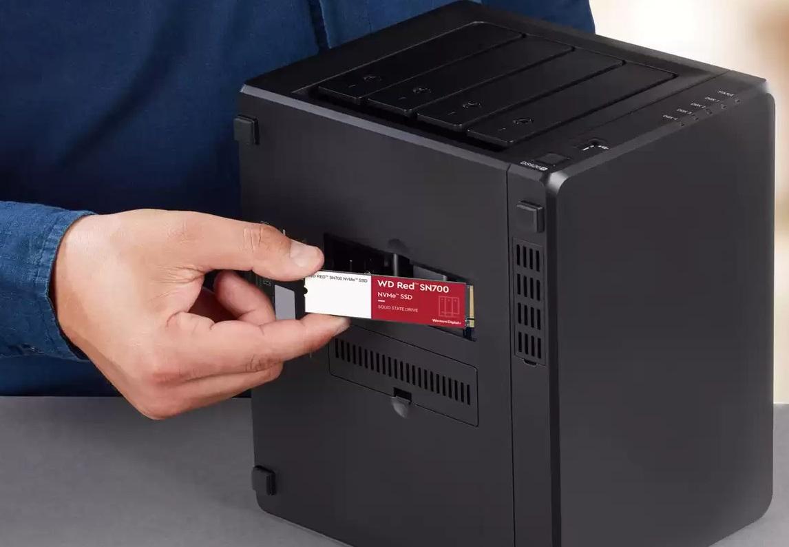 Вышла линейка NVMe-накопителей WD Red SN700 для сетевых хранилищ