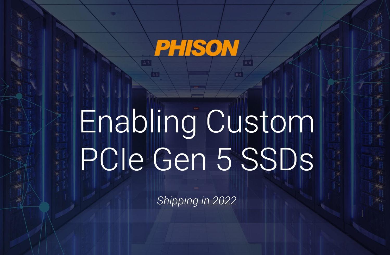 Phison готовит SSD-контроллер E26 с поддержкой интерфейса PCI-E 5.0