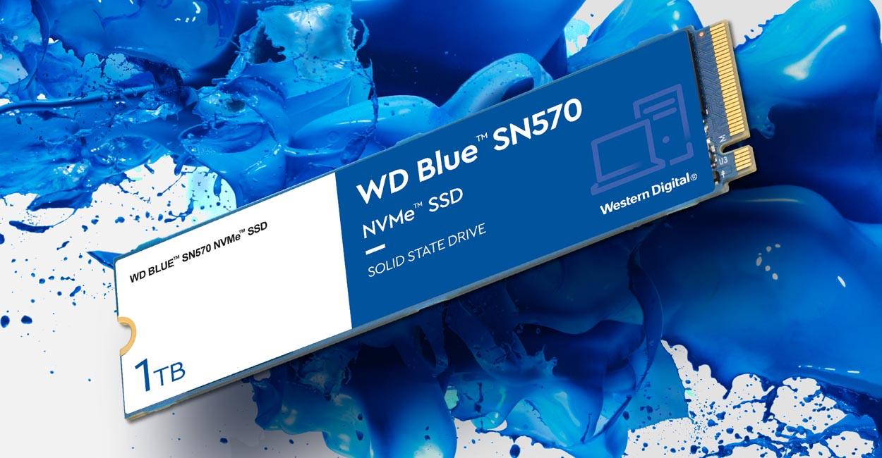 Western Digital выпустила серию доступных NVMe-накопителей WD Blue SN570