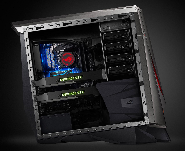 Игровой компьютер ASUS GT51CA получил две NVIDIA GeForce GTX Titan X