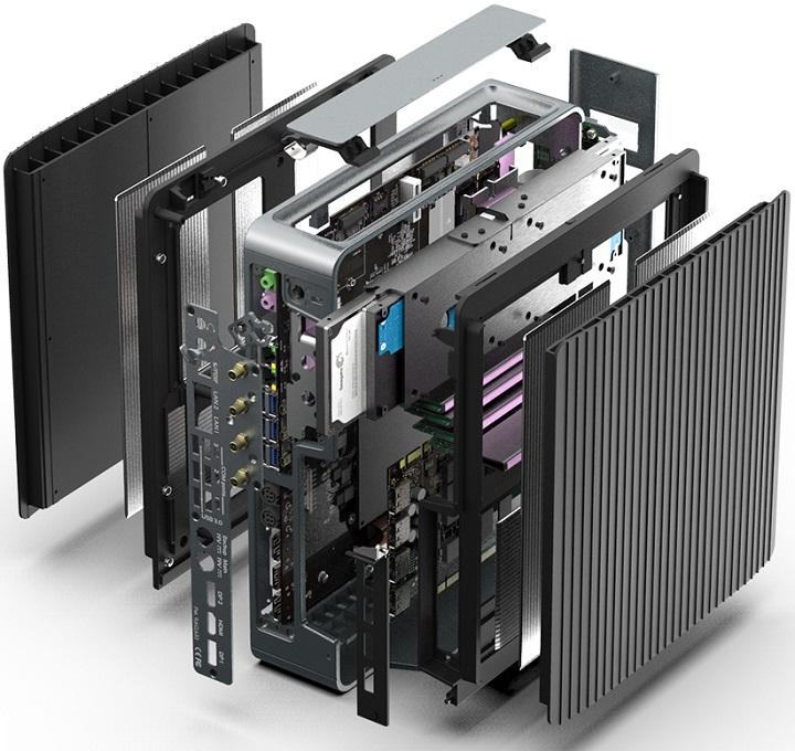 Compulab предлагает бесшумныйПК Airtop2 сдискретной видеокартой