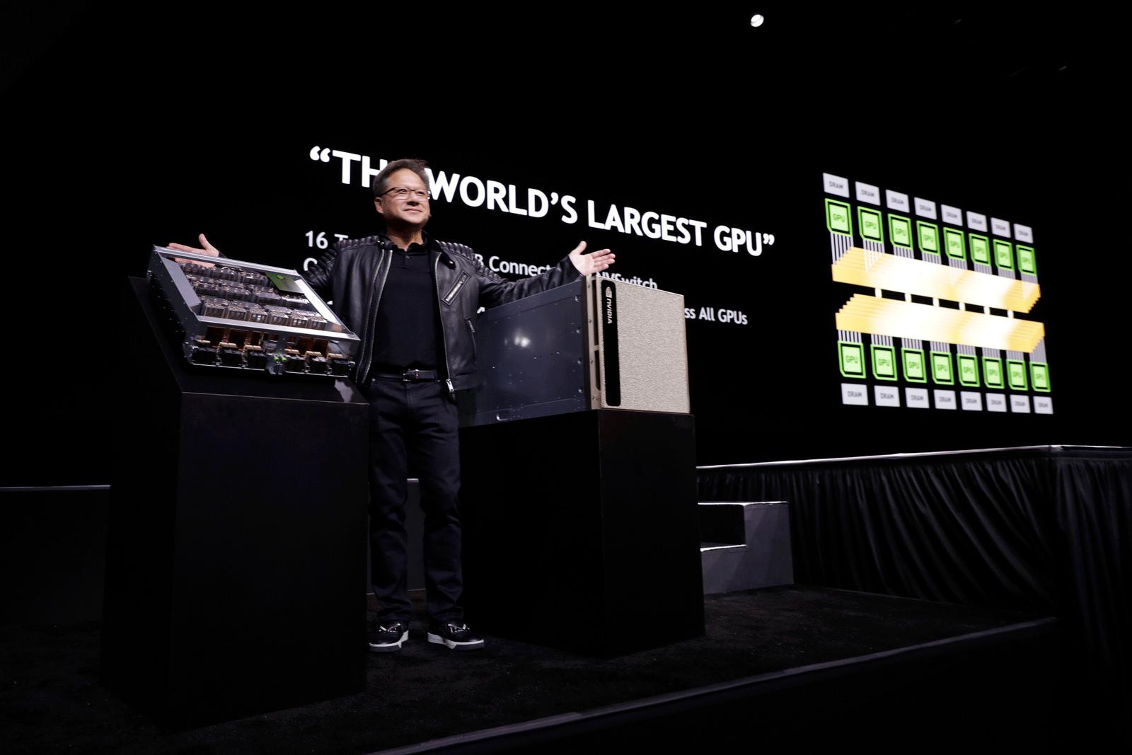 Nvidia представила суперкомпьютер DGX-2 с 16 ускорителями Tesla V100 ... b6f14fc9a56