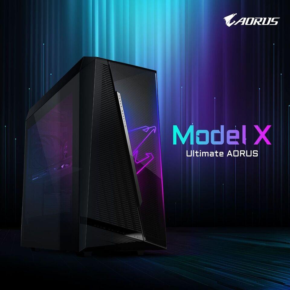 Gigabyte представила игровые ПК Aorus Model X и Aorus Model S