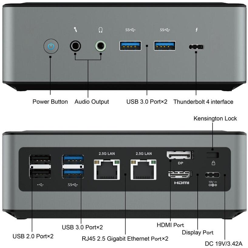 Minisforum выпустила неттоп EliteMini TL50 на платформе Intel Tiger Lake-U