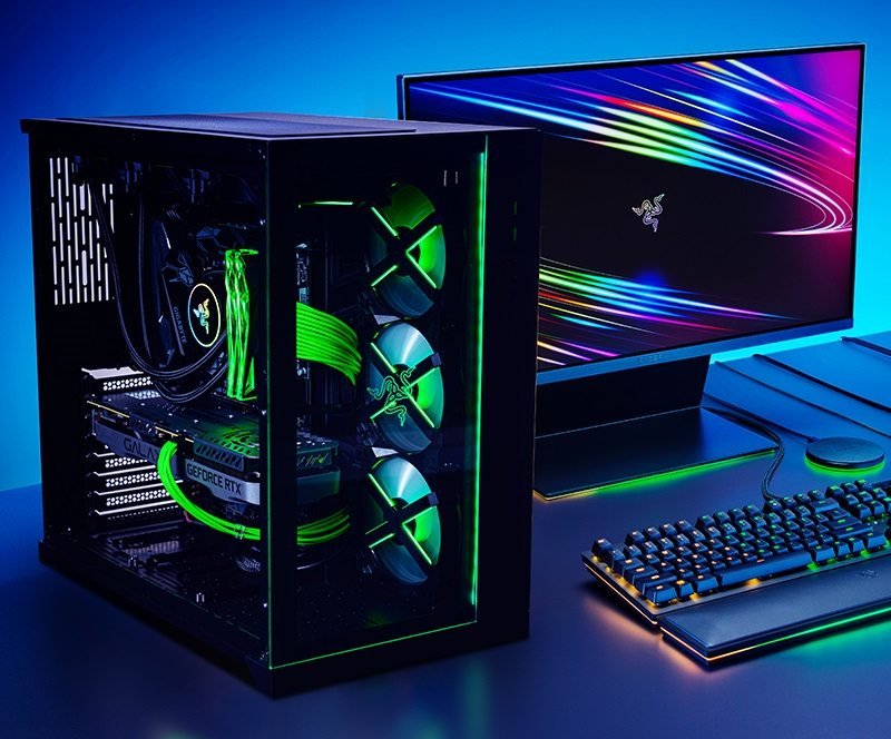 Razer принимает заказы на игровые ПК с видеокартами GeForce RTX 3080 Ti и RTX 3070 Ti