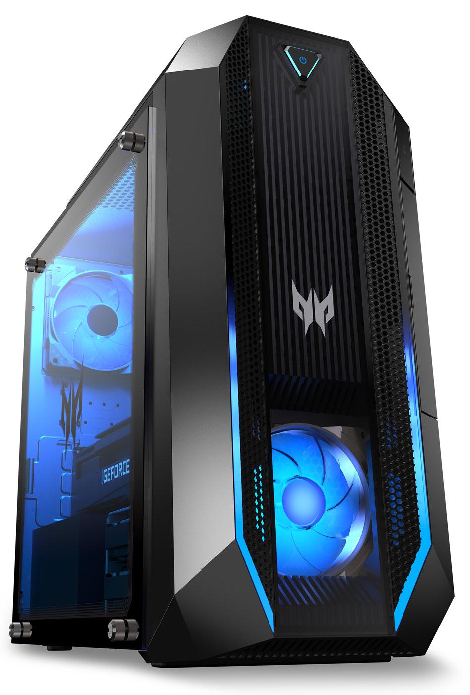 Acer обновила игровые десктопы Predator Orion 3000 и Nitro 50