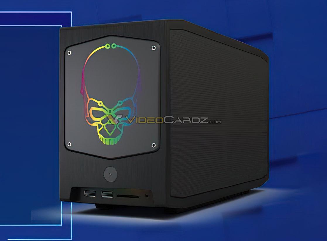 Intel готовит компактные системы NUC 11 Extreme с поддержкой дискретных видеокарт