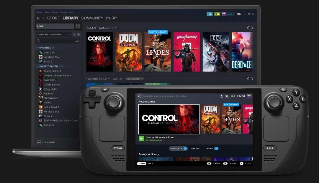 Valve анонсировала портативную игровую консоль Steam Deck на платформе AMD