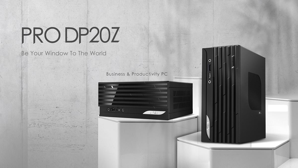 MSI выпустила мини-ПК Pro DP20Z на процессорах AMD Ryzen 5000G