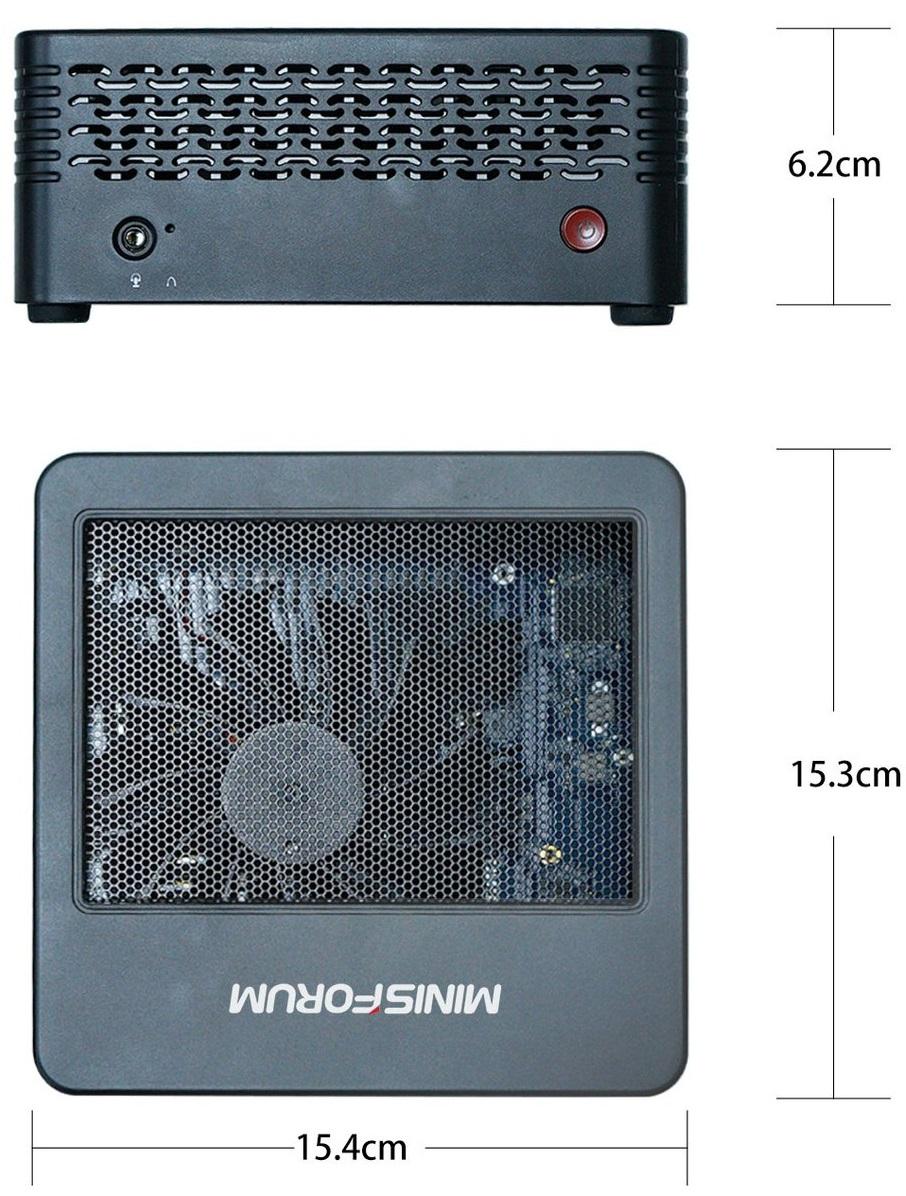 Minisforum оснастила неттоп EliteMini X500 процессором AMD Ryzen 7 5700G