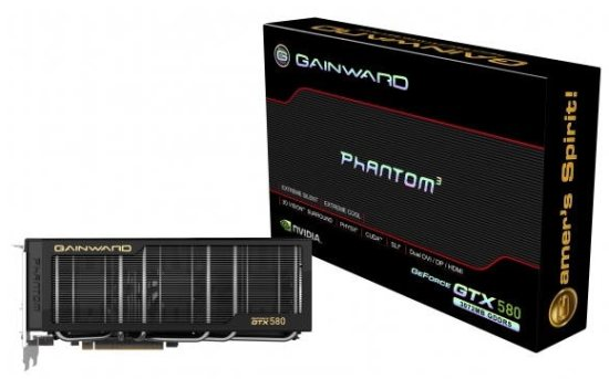 Gainward Gtx 580 Phantom. GeForce GTX 580 Phantom не