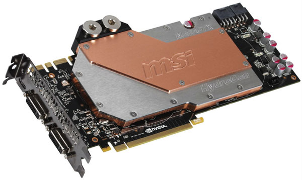 MSI GeForce GTX 580: теперь и с водоблоком