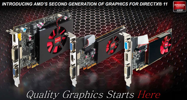 Radeon HD Low-End