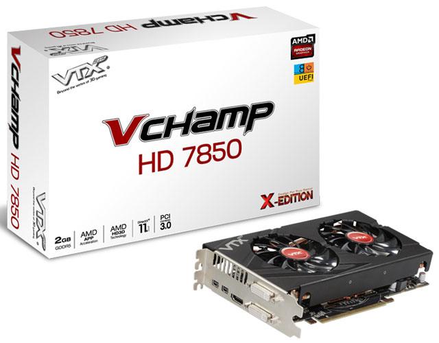 ��������� VTX3D V-Champ HD 7850 (Radeon HD 7850)