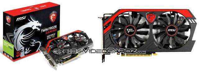 ��������� MSI GeForce GTX 750 Gaming