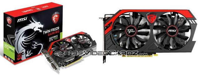 ��������� MSI GeForce GTX 750 Ti Gaming