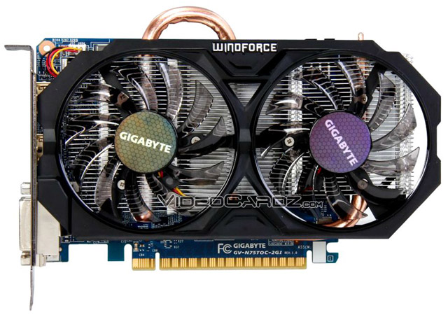 ��������� Gigabyte GeForce GTX 750 Ti OC