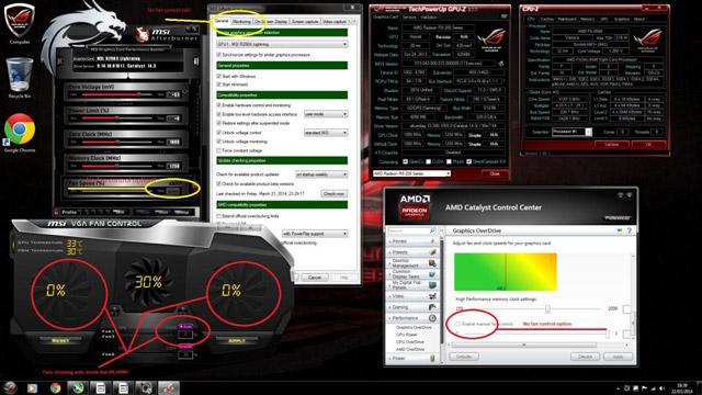 ���������� MSI R9 290X Lightning — �������� � Catalyst 14.3