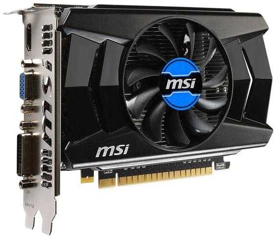 ���������� MSI N750-1GD5/OCV1
