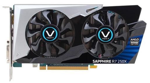 ���������� Sapphire Vapor-X R7 250X GHz Edition