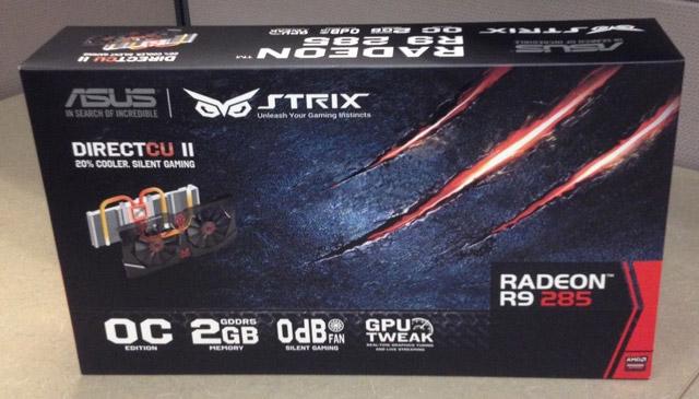 ���������� Asus Radeon R9 285 Strix