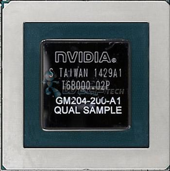 GPU Nvidia GM204