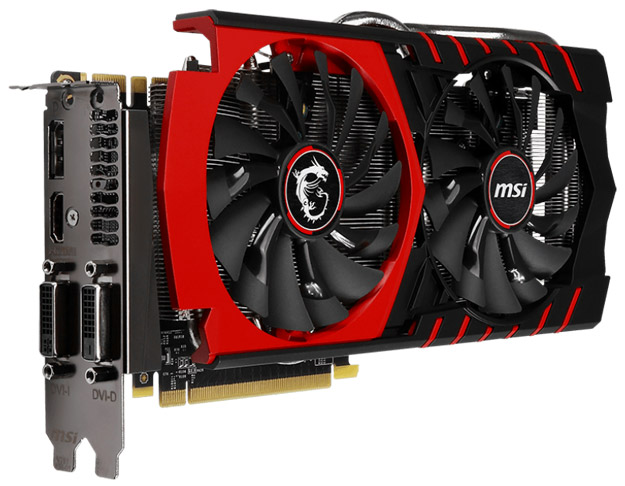 Видеокарта MSI GeForce GTX 970 Gaming 4G LE