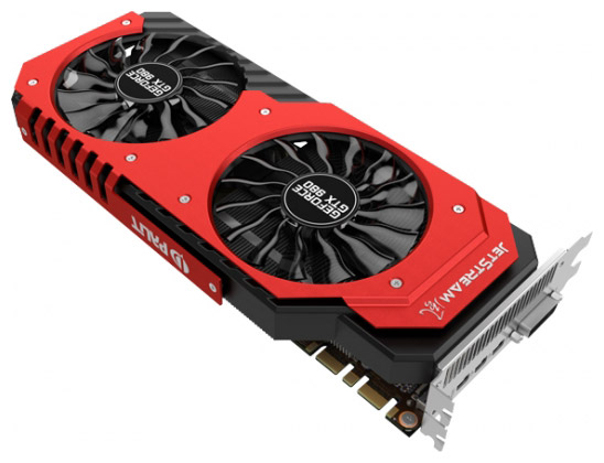 ���������� Palit GeForce GTX 980 Super JetStream