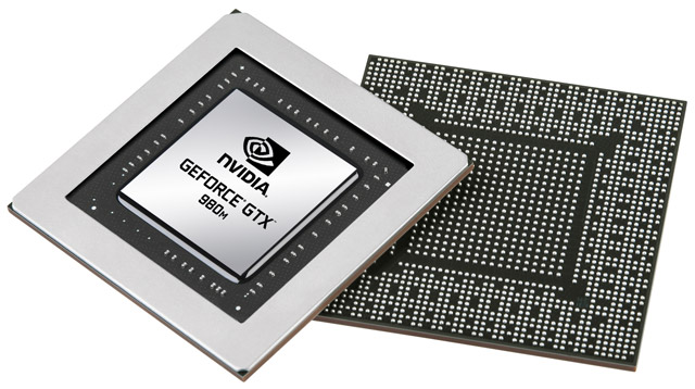 GPU GeForce GTX 980M/970M