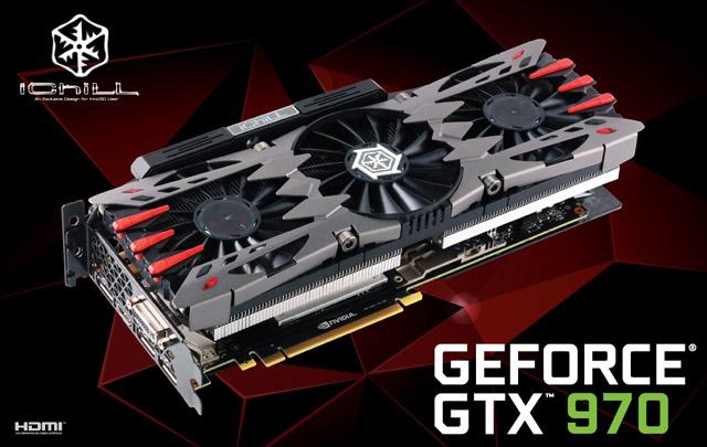 ���������� Inno3D iChill GeForce GTX 970 4GB Ultra