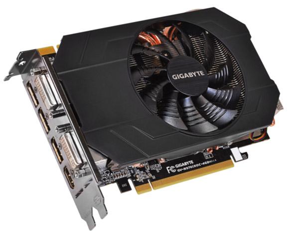 ���������� Gigabyte GV-N970IXOC-4GD