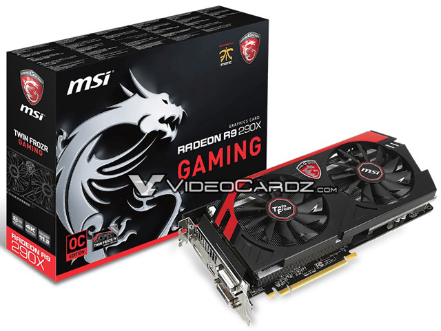 MSI Radeon R9 290X Gaming 8GB