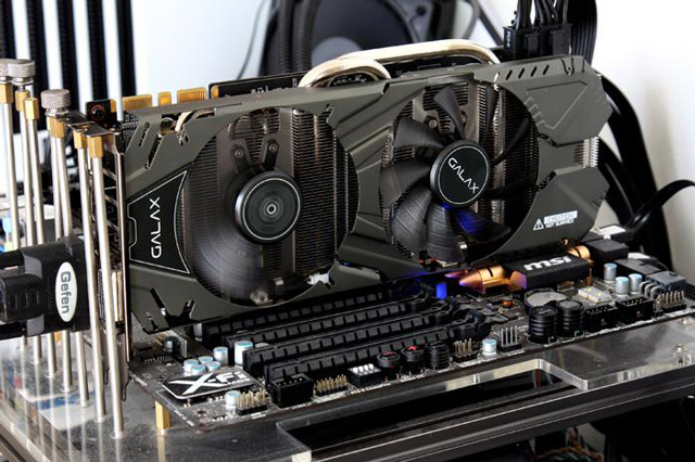 ���������� Galax GeForce GTX 970 EXOC Black Edition