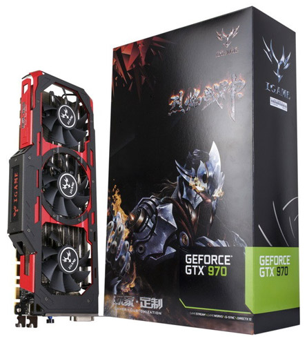 ���������� Colorful iGame GeForce GTX 970 Flame Wars X Top