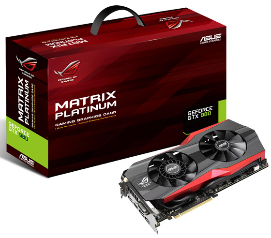 ���������� Asus GeForce GTX 980 Matrix Platinum