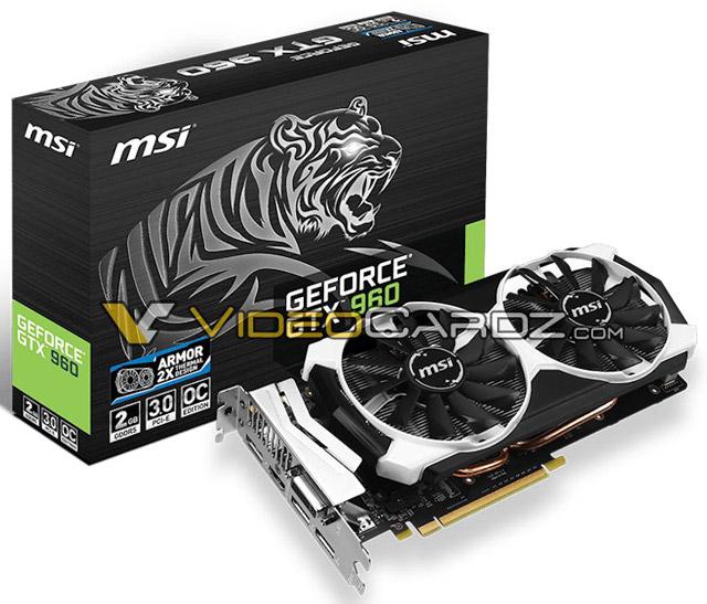 ���������� MSI GeForce GTX 960 OC Edition