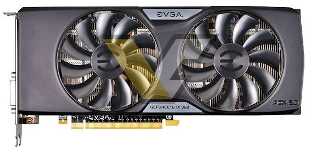 ���������� EVGA GeForce GTX 960 Superclocked