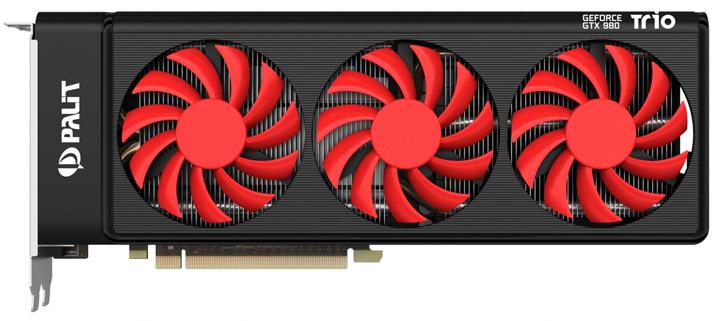 ���������� Palit GeForce GTX 980 Trio