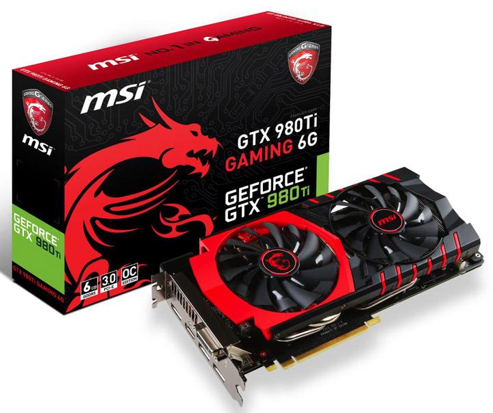 ���������� MSI GeForce GTX 980 Ti Gaming 6G