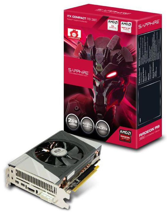 ���������� Sapphire Radeon R9 380 ITX Compact