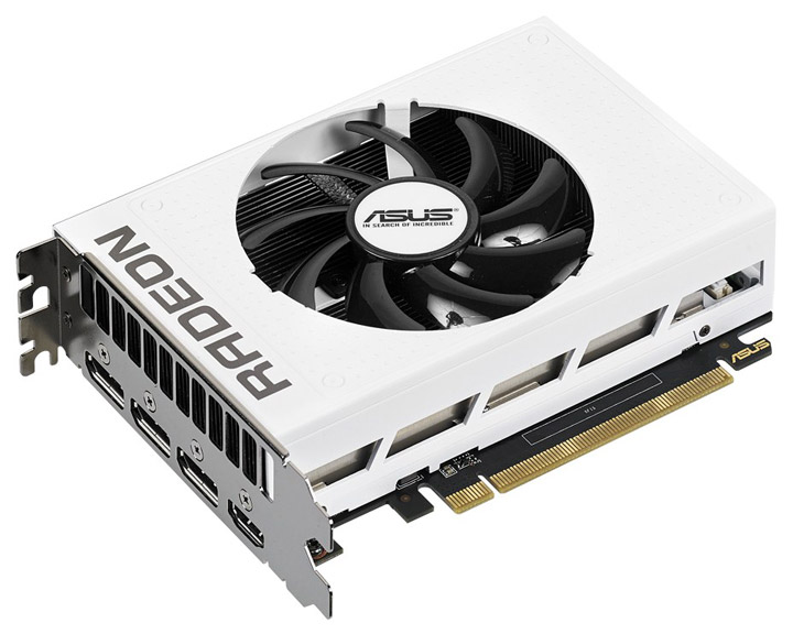 Видеокарта Asus Radeon R9 Nano White