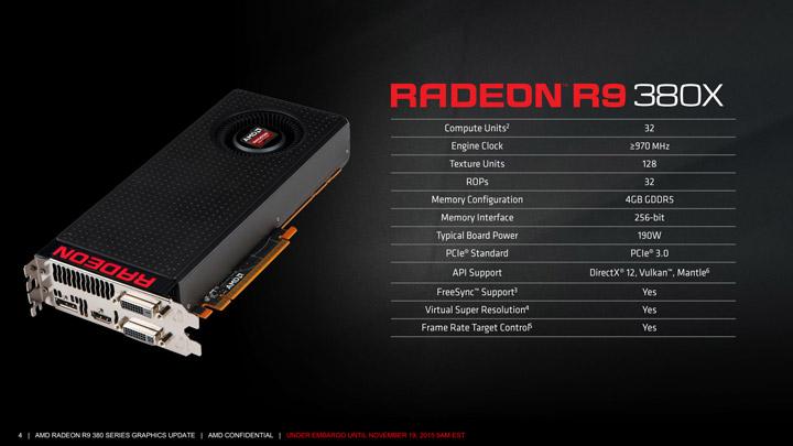 Видеокарта AMD Radeon R9 380X