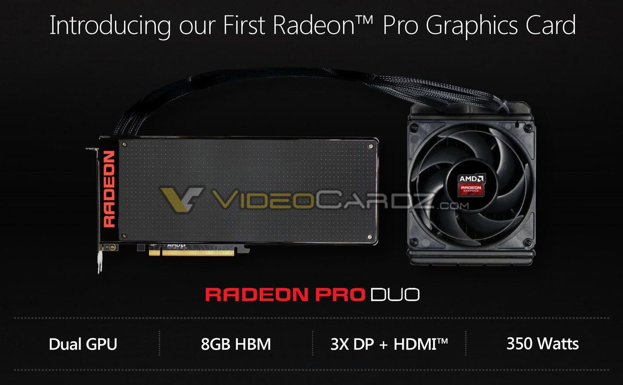 AMD Radeon Pro Duo Driver for PC