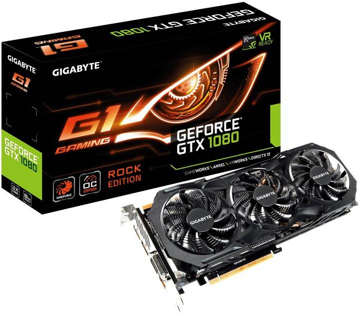 Представлена однослотовая видеокарта Galax GeForce GTX 1070
