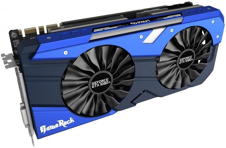 Colorful представила видеокарту iGame GeForce GTX 1080Ti Vulcan XсЖК-дисплеем