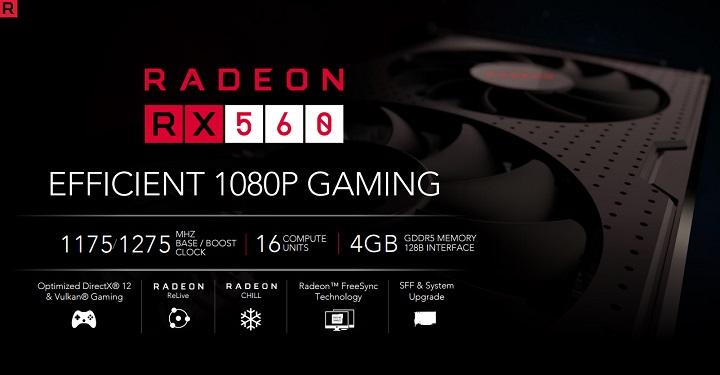 AMD втихую понизили работоспособность  некоторых RadeonRX 560