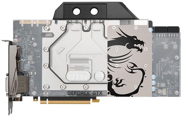 MSI представила графический ускоритель GeForce GTX 1080 TiSea HawkEK X