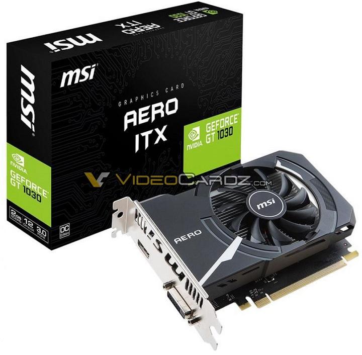 GeForce GT 1030 Aero ITX