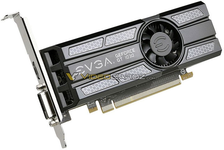 Видеокарта NVIDIA GeForce GT 1030 будет выпущена 17 мая