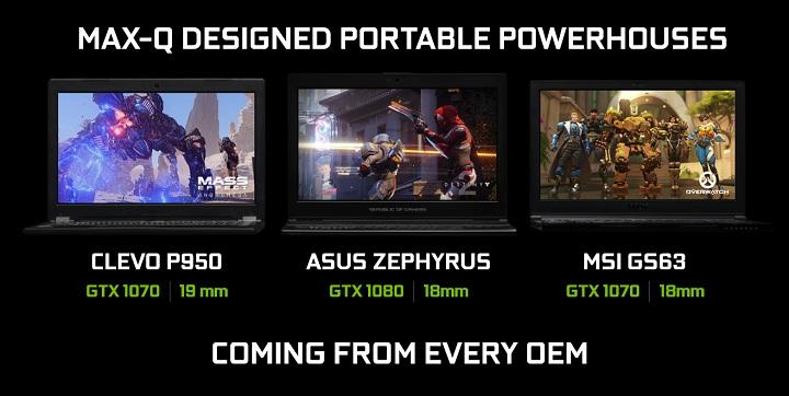 Инициатива NVIDIA Max-Q даст возможность появиться сверхтонким игровым ноутбукам